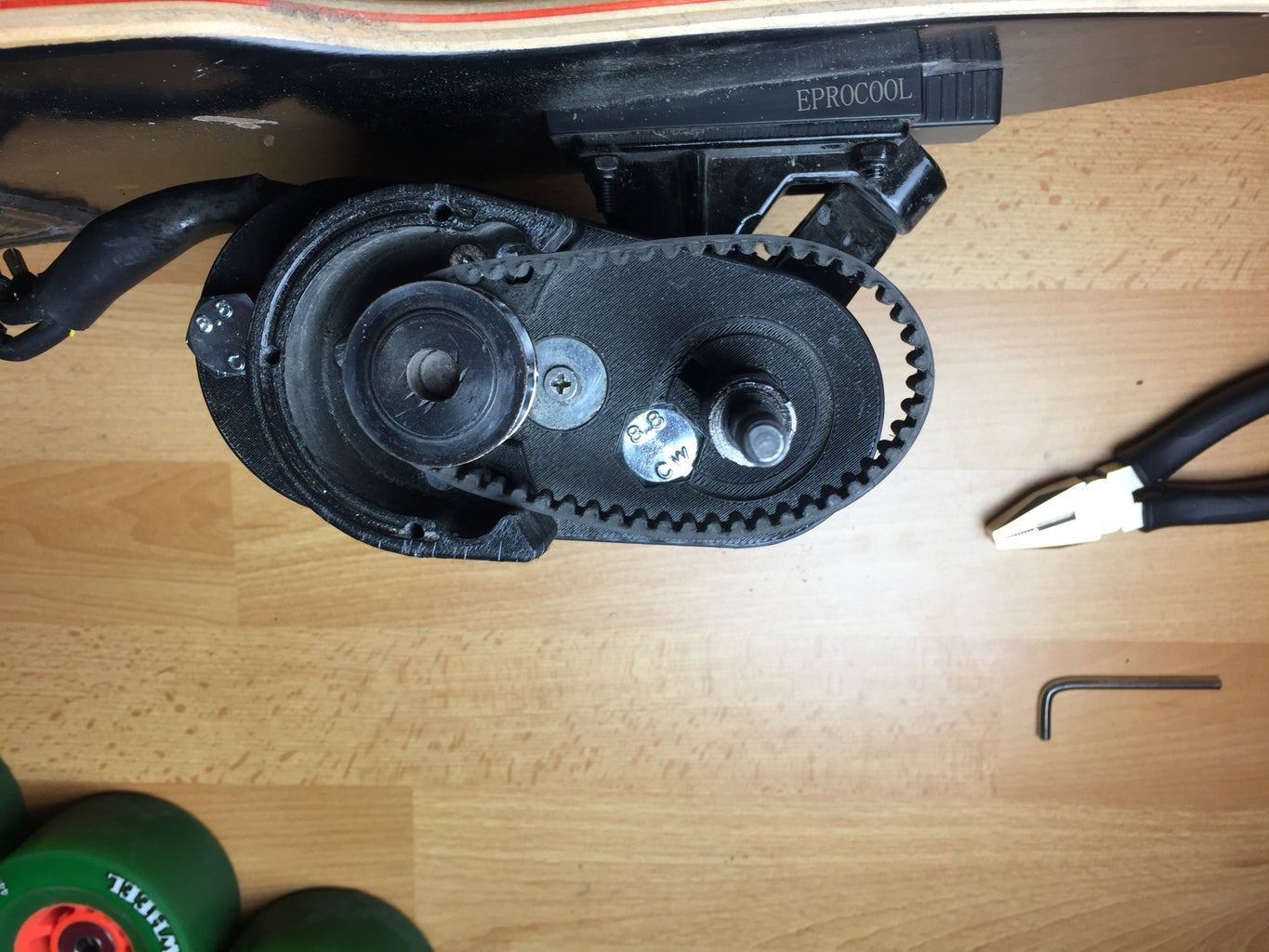 Timing Belt and Idler System Positioning