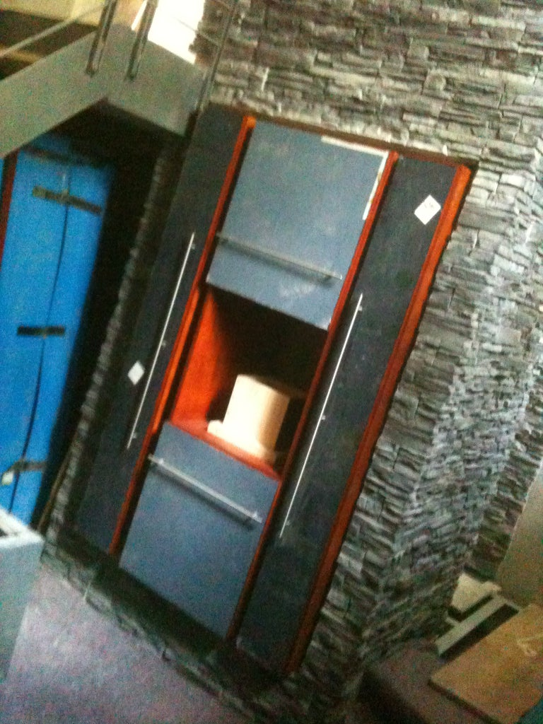 Installing the Build-in Cupboard in the Kitchen Room