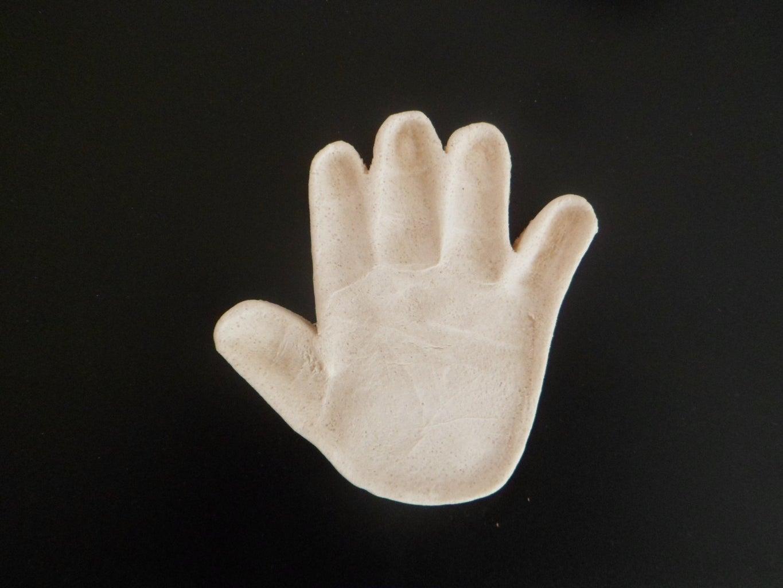 Procedure for Hand Print: