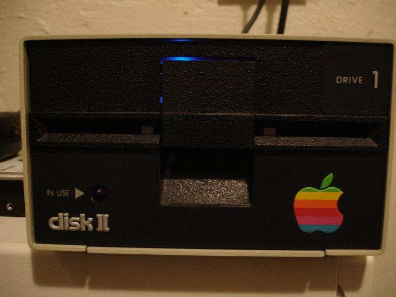 Apple Disk II floppy drive reincarnated as a USB hard disk enclosure