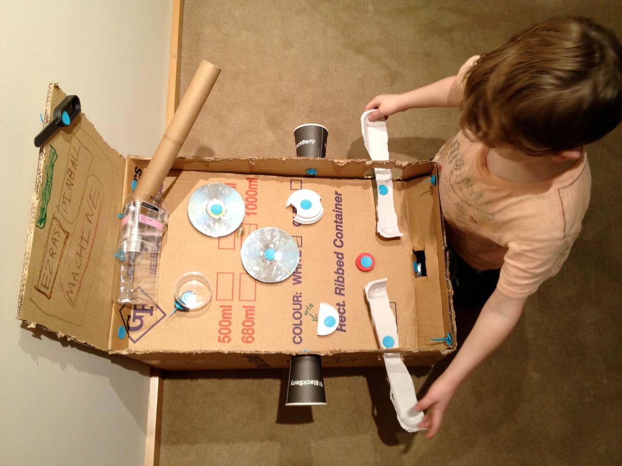 Makedo Pinball Machine
