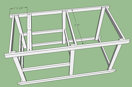 Attach Roof Supports