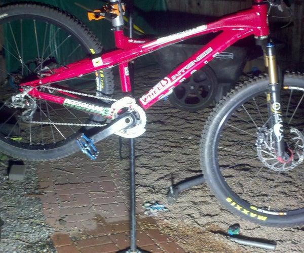 Poor Mans Bike Repair Stand