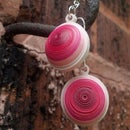 Paper Quilling Earrings Tutorial - Squashed Dome Earrings