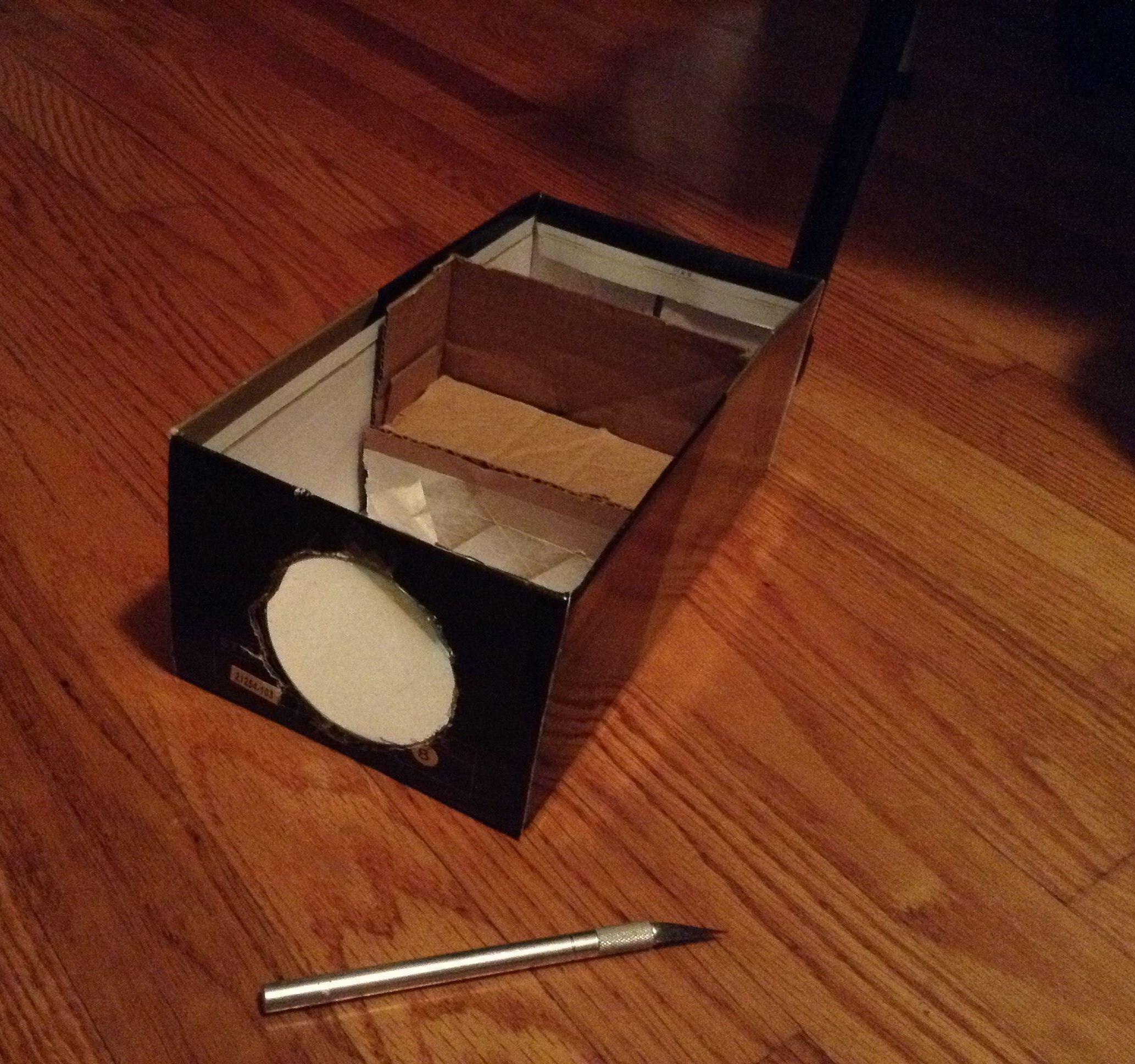 Easy Cardboard Projector