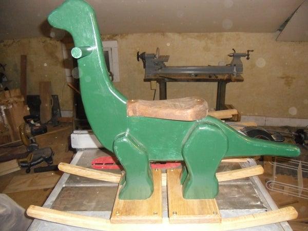 Children's Rocking Dinosaur