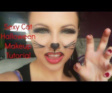 Sexy Cat Halloween Makeup
