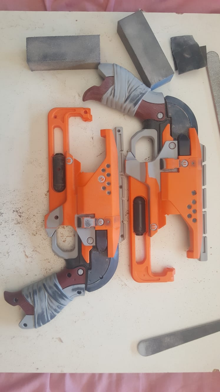 Hammershot Stripped and Dismantled