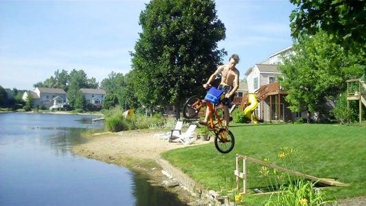 Jump Into a Lake!