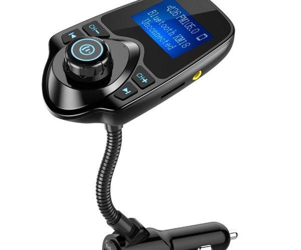 Nulaxy Bluetooth FM Transmitter Power Switch Mod