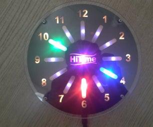 Neopixel Clock