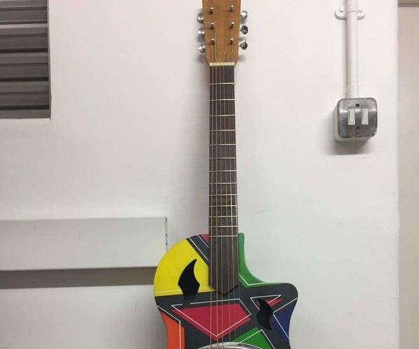 How to Make a Steel Body Resonator Guitar.