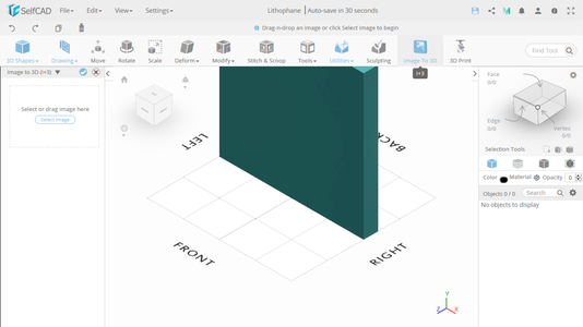 Generate a 3D Model From Image