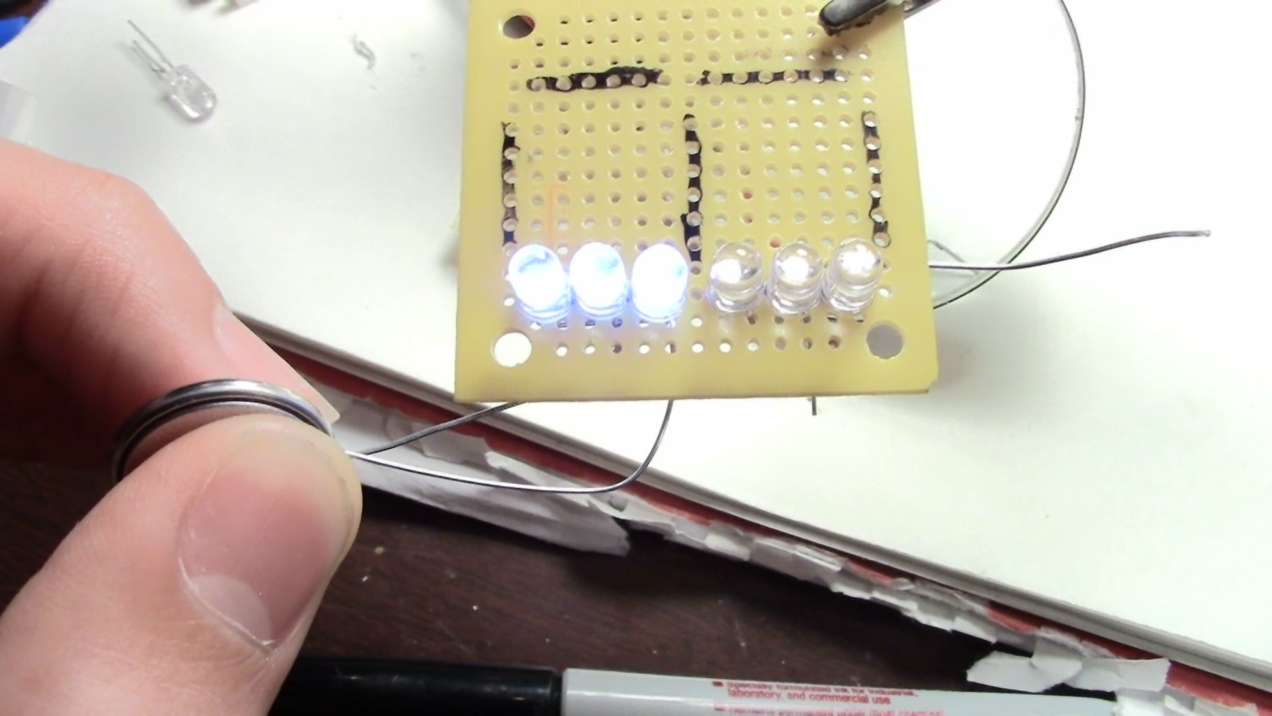 Finish All the Soldering