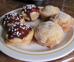 Deep Fried Doughnut Cupcakes