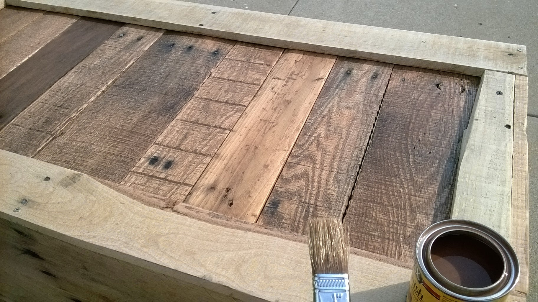Staining the Trunk
