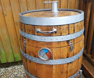 Whiskey Barrel Smoker / BBQ