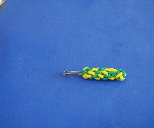 Locked Footrope/diamond Knot Part 2