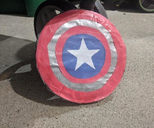 Bouncing Shield(Captain America)