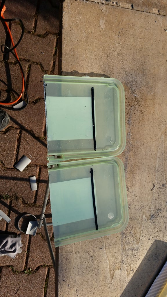 Step 3 : Cutting of Flatten Parts / Coupe Des Parties Plates