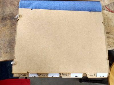 Whiteboard Trello & Timeline Sheets