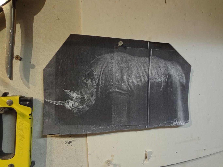"How to Make ""Rhonda the Rhino"""