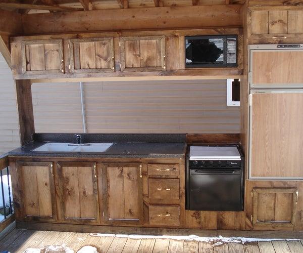 *Camper Deck Kitchen*