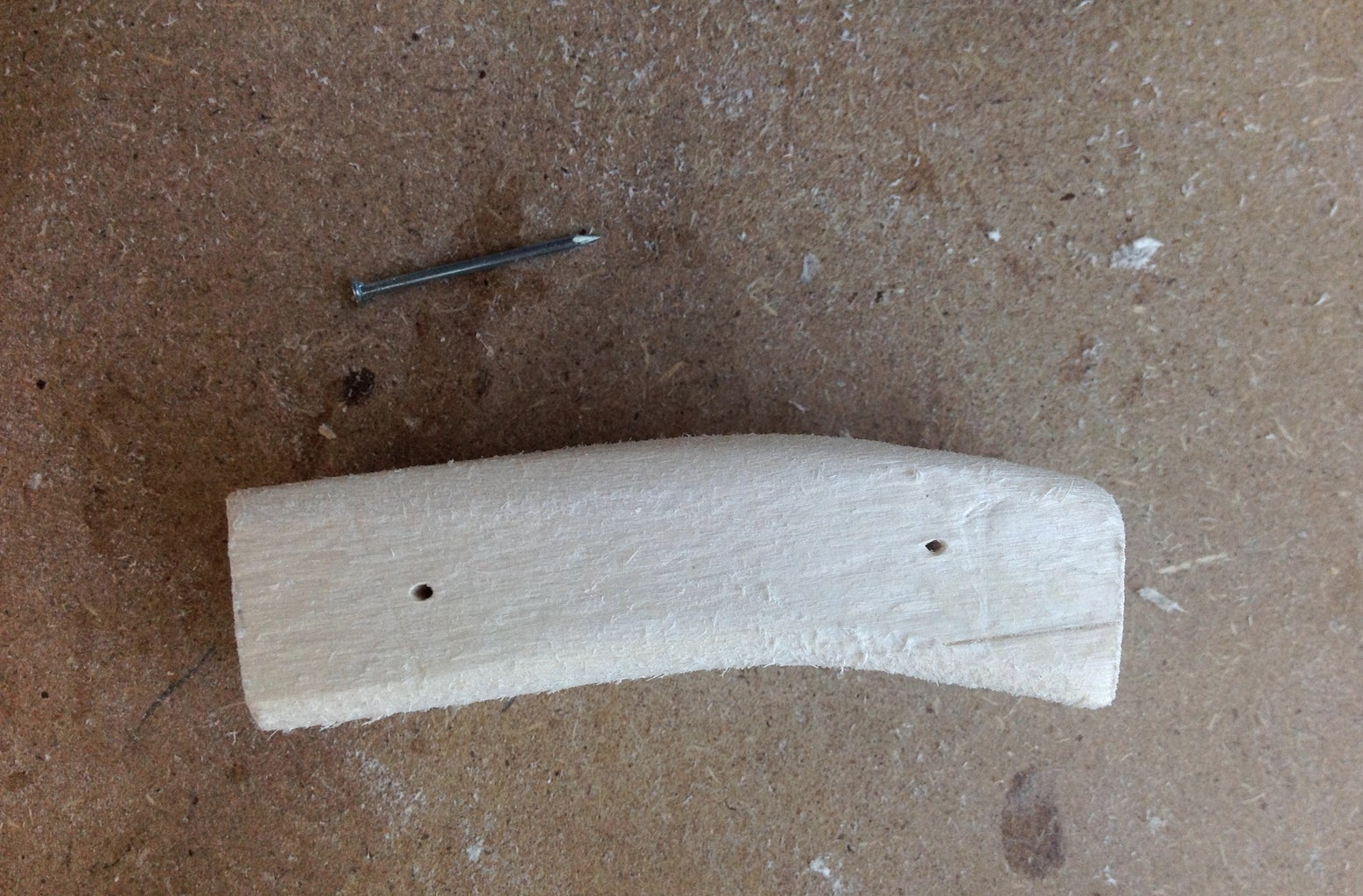 Making the Middle Shank Peice