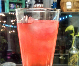 Pomegranate Green Tea Limeade - Iced Drink, Ice Cubes, or Popsicles