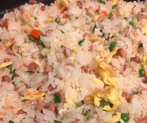 Panda Express Combo Fried Rice