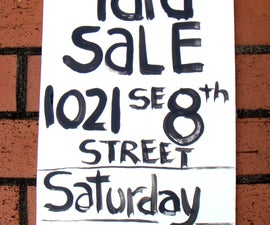 Yard Sales and Garage Sales - How to Have the BEST One