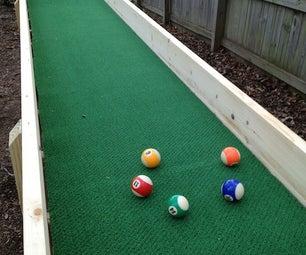 Outdoor Carpet Ball Table ( Also Called Gutter Ball )