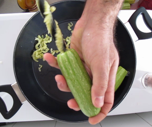Cooking With Power Tools: Stuffed Zucchinnis