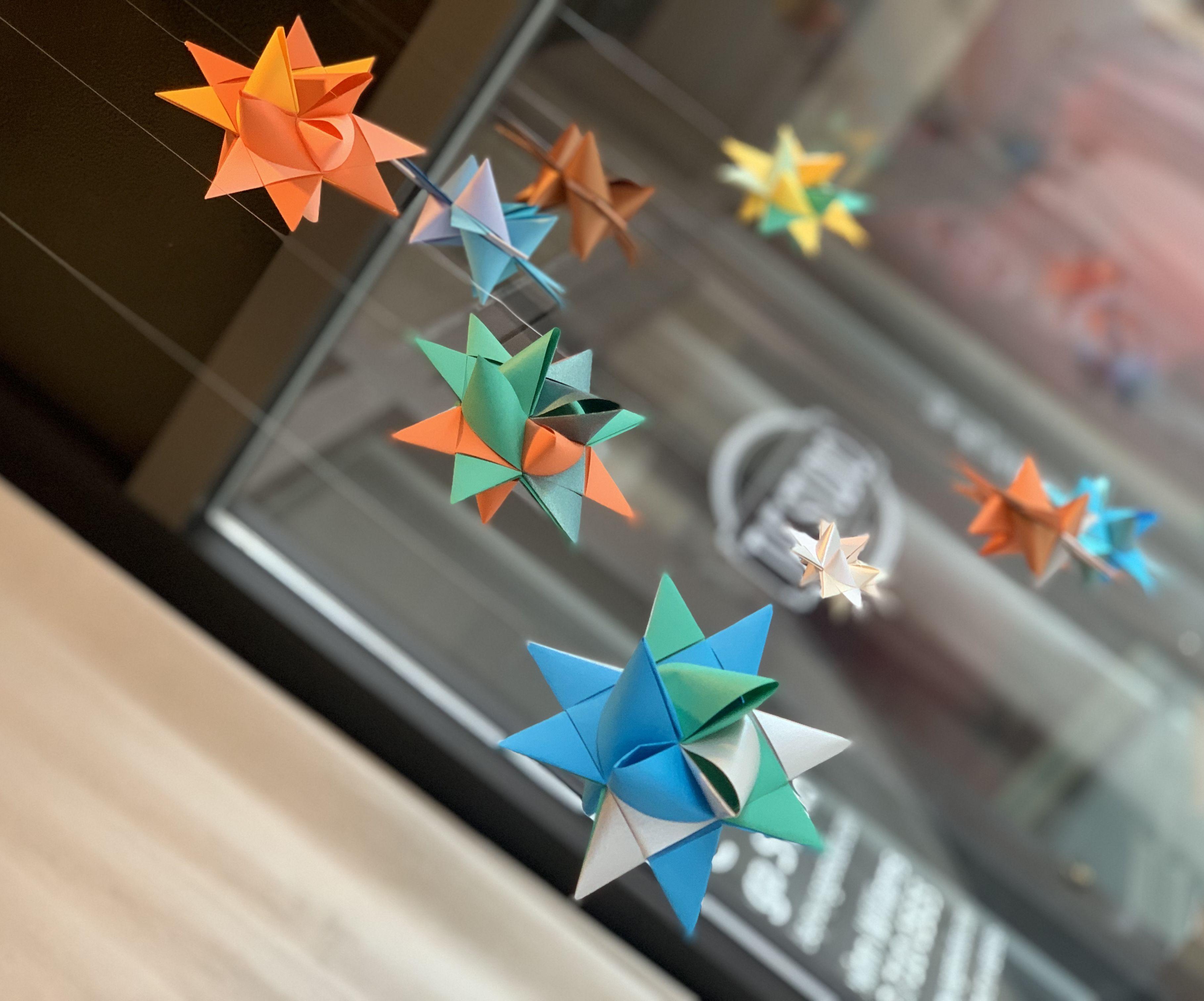 Paper Origami Moravian Star - Aka Fold Paper a Billion Times