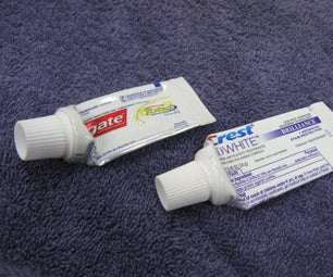 牙膏管填充物