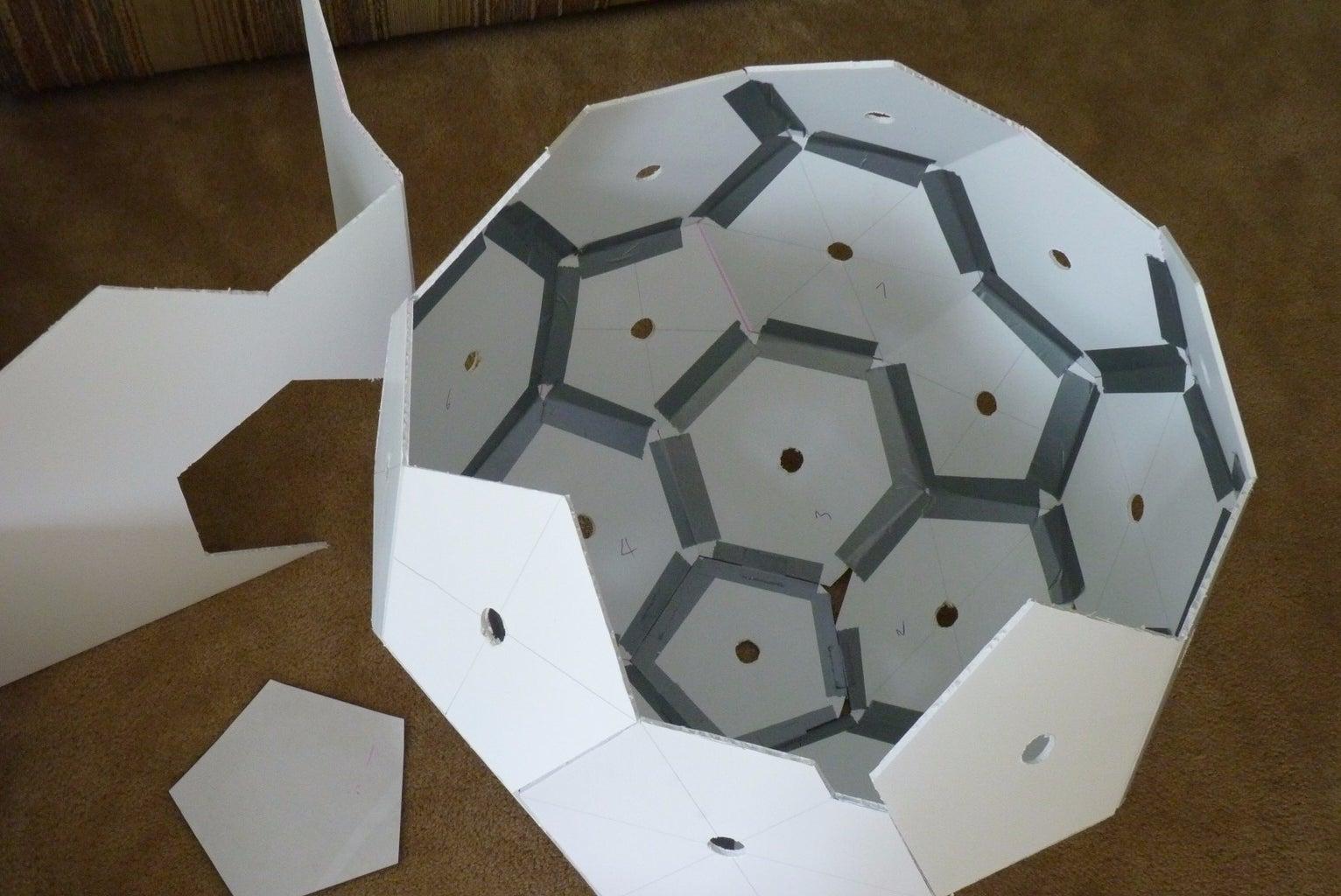 "Make the ""Soccer Ball"" Dome"