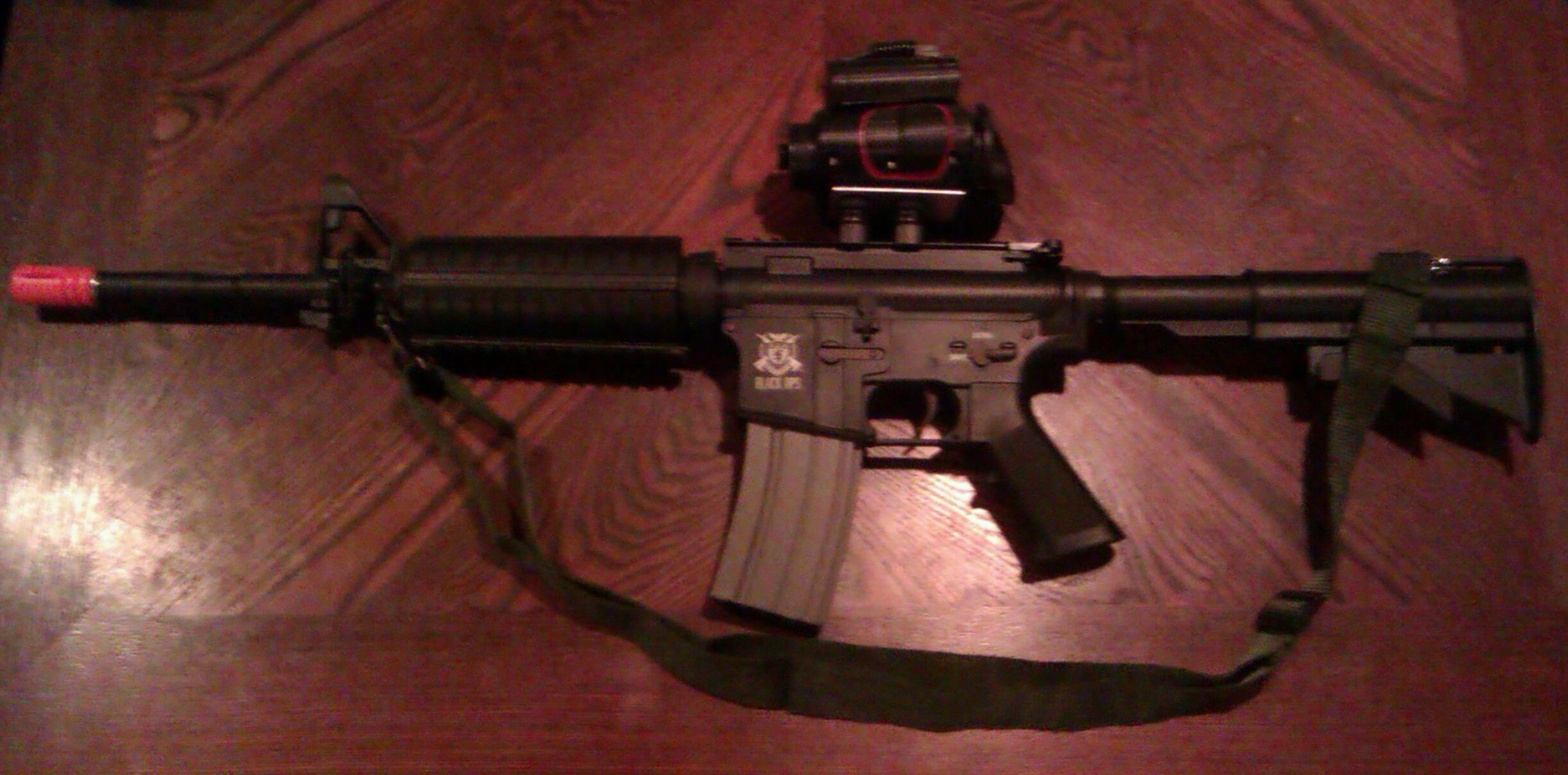 How to make a night vision airsoft scope!