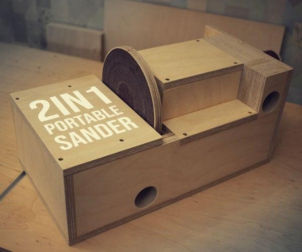 Portable 2in1 Disc & Drum Sander