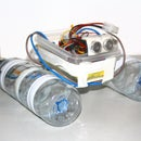 Build a robot boat using water bottles