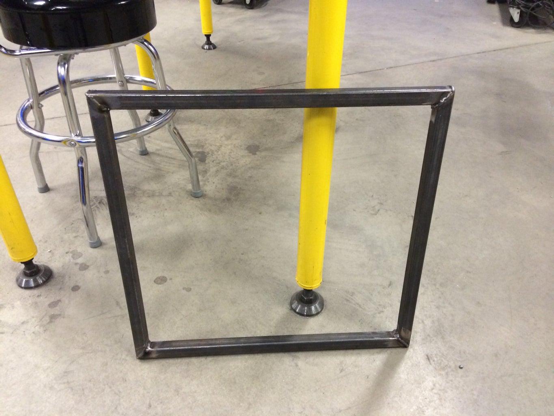 Table Base Fabrication - Weld Base Sides