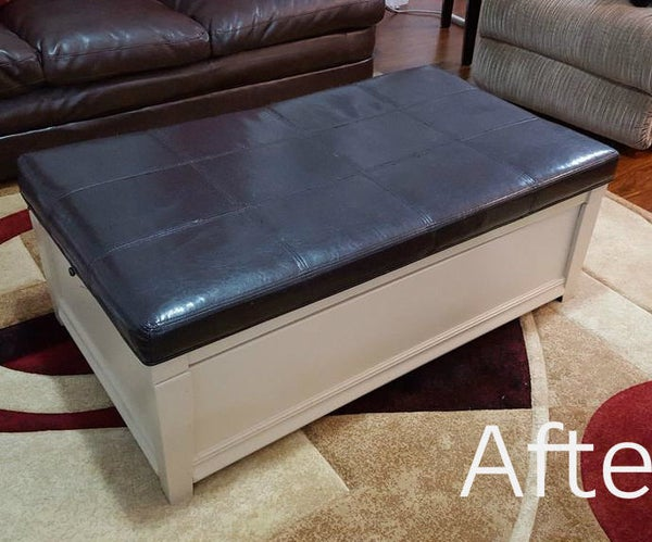 Coffee Table to Hope Chest