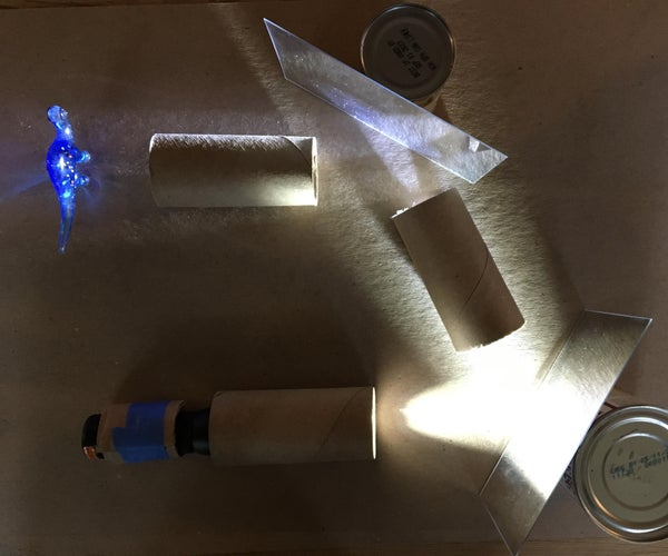 Light and Mirror Puzzles