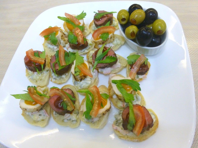Lilliputian Sandwiches