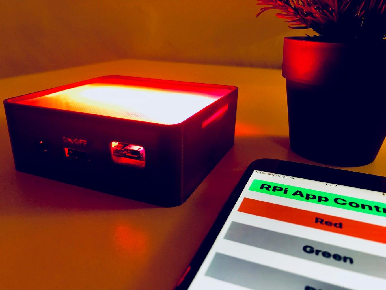 RPi IoT Smart Light Using Firebase