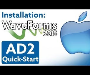 How to Install WaveForms 2015 in OSX