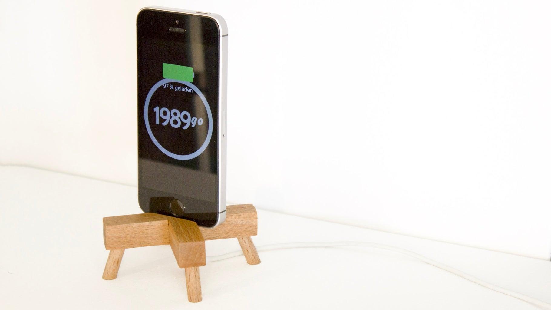X-Shaped Phone Dock