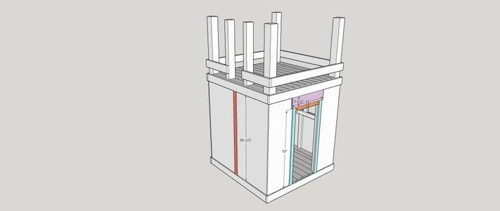 Step 12:  Door and Window Side Trim