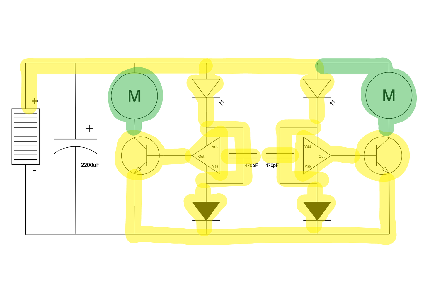 Freeforming the Circuit 11: Motor Connections