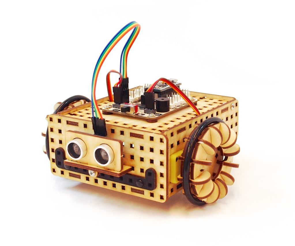 Rover robot - Arduino and lasercut plywood