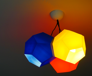 Fully 3D-printed Lampshade
